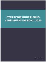 Strategie digitálního vzdělávání ČR do roku 2020